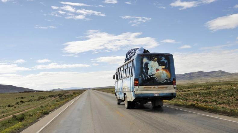 Busunglück in Bolivien fordert mindestens 24 Menschenleben