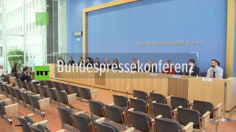 Bundespressekonferenz: Deutsch-französische Waffenexporte werden wohl einfacher (Video)