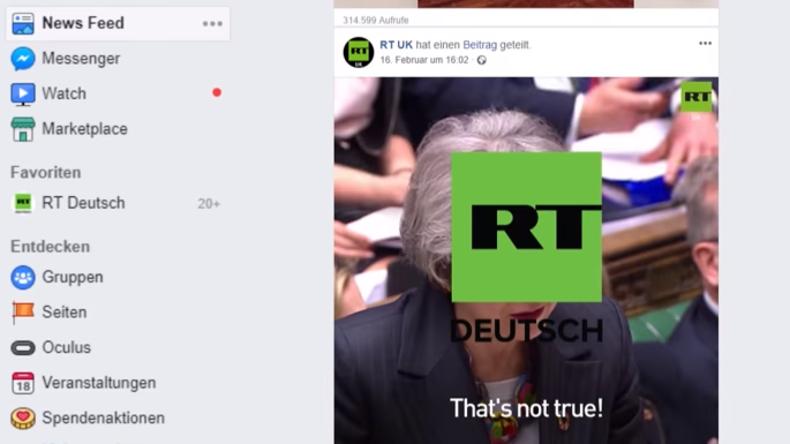 News-Flaute auf Facebook? Kleine Gebrauchsanweisung für RT Deutsch-Abonnenten (Video)