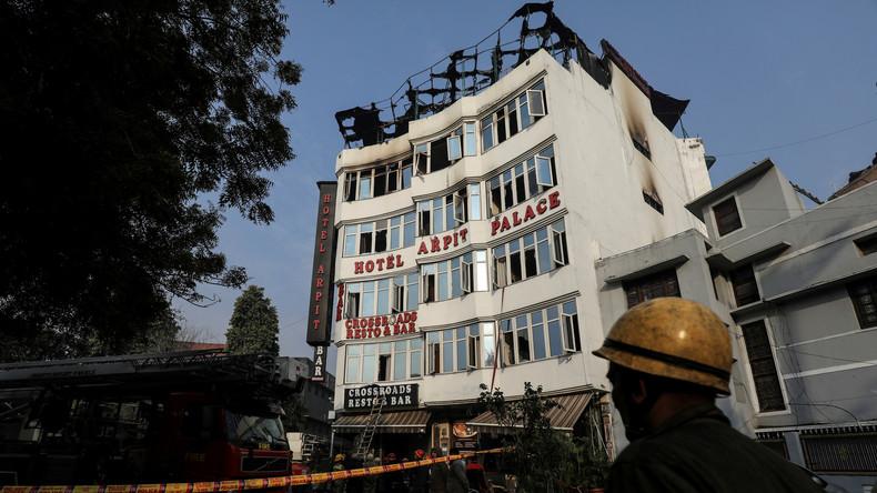 Neu-Delhi: Fast 60 Hotels wegen Missachtung von Brandschutzbestimmungen geschlossen