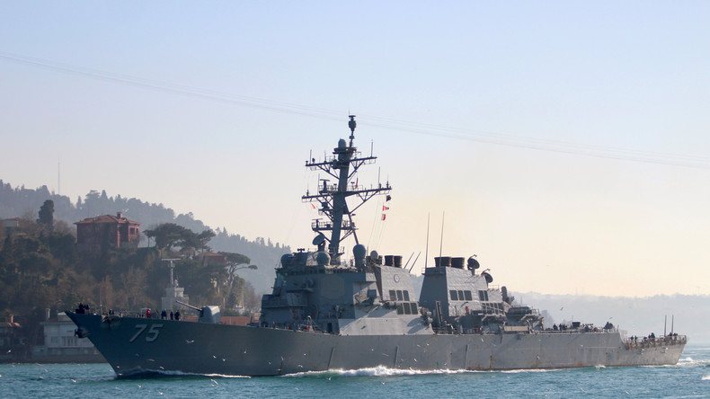 Russland beobachtet Bewegungen von US-Zerstörer im Schwarzen Meer