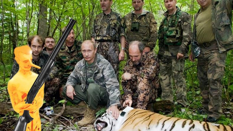 """France 2 beim Lügen erwischt: Bericht über Putins """"Tigerjagd"""" mit Preis für Fake News ausgezeichnet"""
