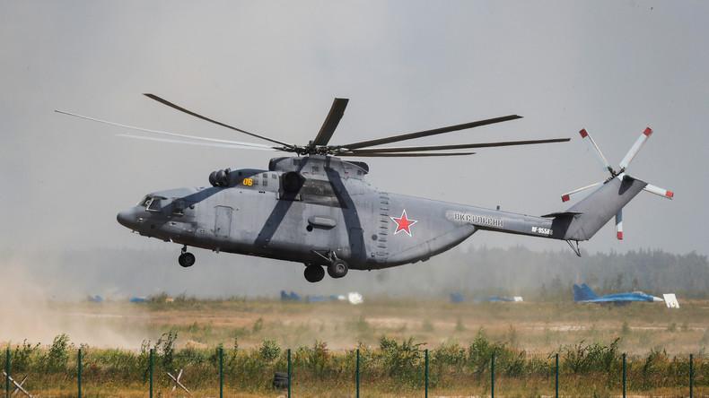 Russland und China planen Unterzeichnung von Jahrhundertvertrag für schwere Hubschrauber