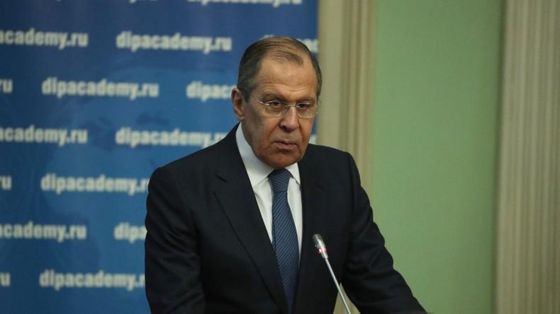 LIVE: Lawrow spricht  über die Beziehungen Russlands zur EU