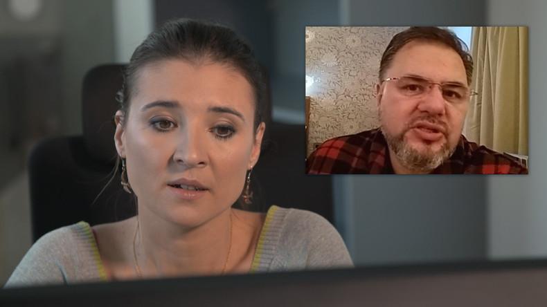 """""""Ukrainische Regierung genießt keine Autorität in der Bevölkerung"""" - Interview mit Ruslan Kozaba"""