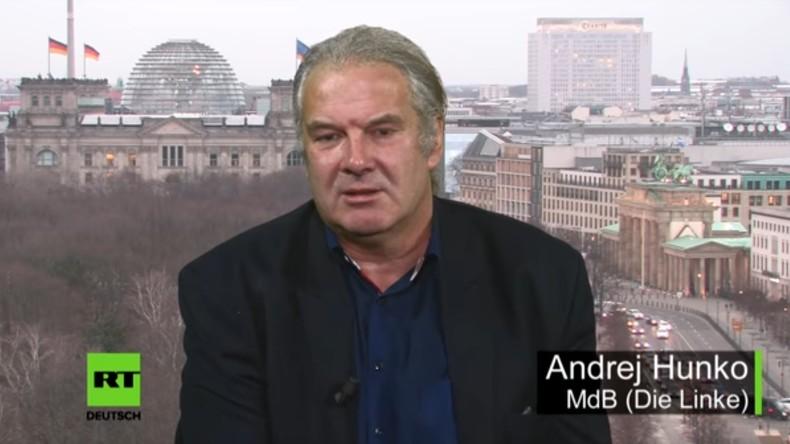 """""""Blinde Gefolgschaft"""": Andrej Hunko kritisiert Deutschlands Abhängigkeit von den USA (Video)"""