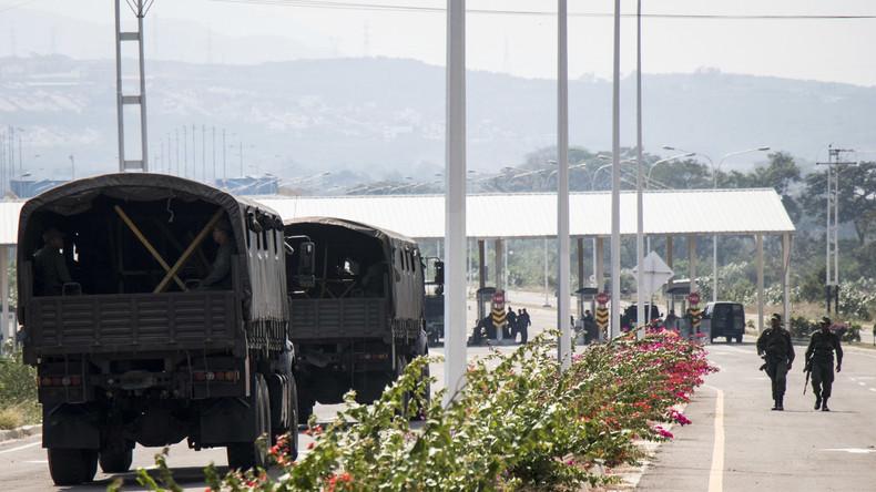 Maduro: Venezuela schließt die Grenze zu Brasilien, möglicherweise auch zu Kolumbien