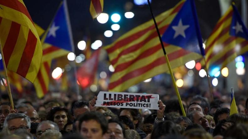 Neue Proteste in Barcelona gegen katalanischen Unabhängigkeitsprozess
