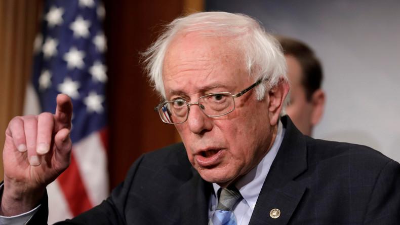 Bernie Sanders schwimmt gegen den Strom und will Guaidó nicht als Interimspräsidenten anerkennen