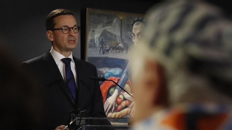 """Polnischer Premierminister kritisiert Israel: """"Rassistische Beleidigungen"""" werden nicht akzeptiert"""