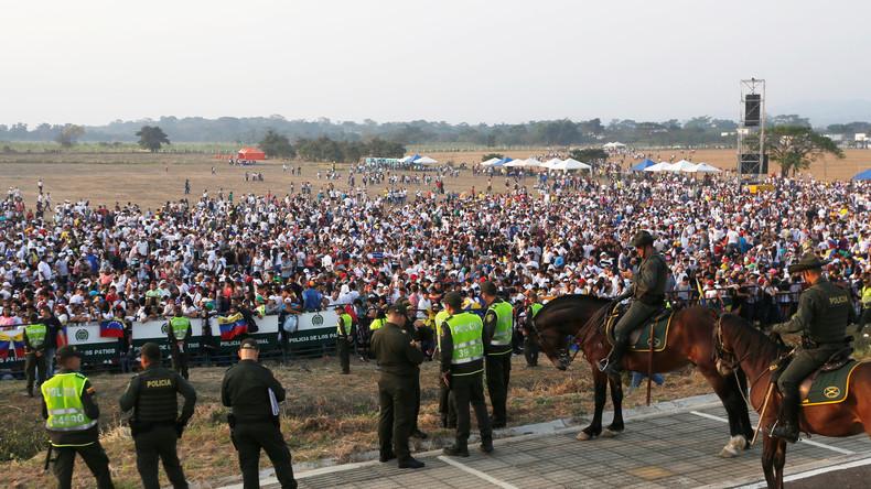 LIVE aus Cúcuta: Oppositions-Konzert an der Grenze zwischen Kolumbien und Venezuela
