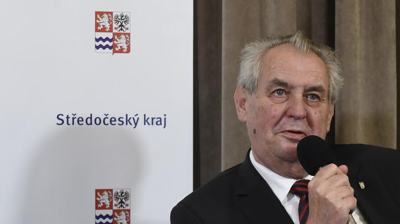 Tschechischer Präsident wendet sich gegen Stationierung von US-Raketen