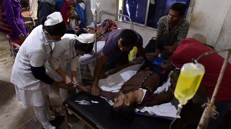 Schon 89 Tote nach Schnaps-Vergiftung in Indien