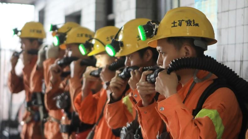 China: 20 Kumpel sterben bei Unfall in Bergwerk