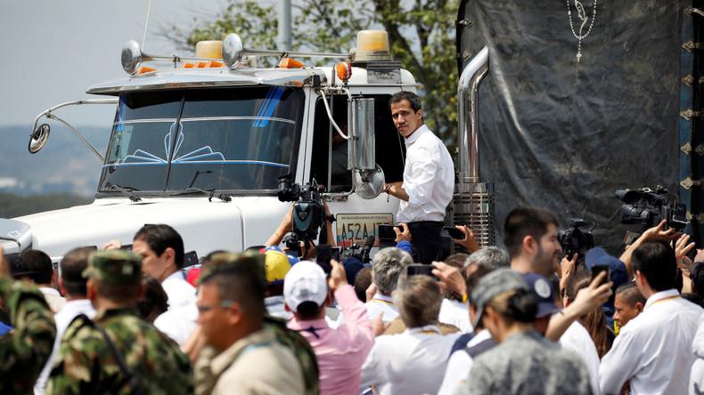 Kolumbien zieht Hilfsgüter von der venezolanischen Grenze ab