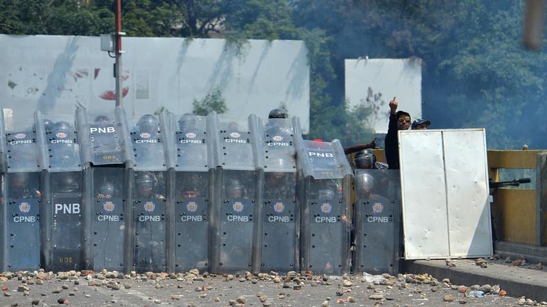 Maidan 2.0 an Venezuelas Grenzen?