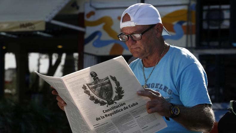Kubaner stimmen über Verfassungsreform ab