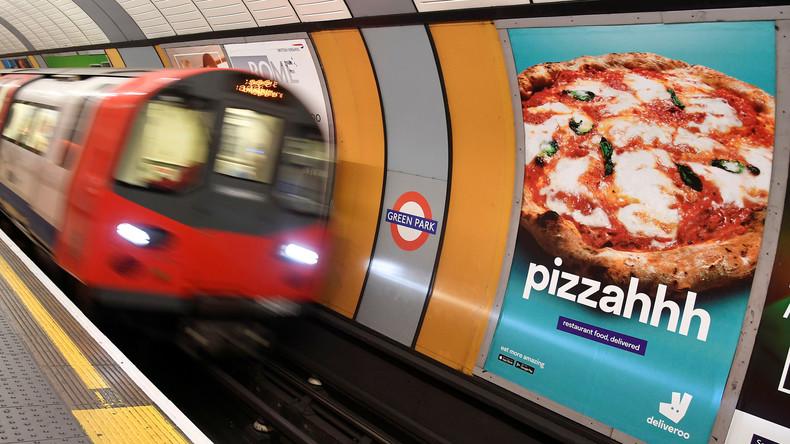 London verbietet Werbung für ungesundes Essen in öffentlichen Verkehrsmitteln
