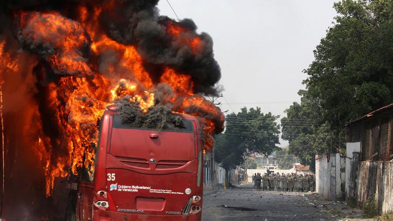 Eskalation und Provokation an der Grenze zwischen Venezuela und Kolumbien