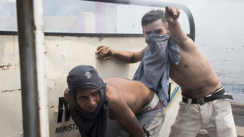 EU und Peru lehnen militärische Einmischung in Venezuela ab