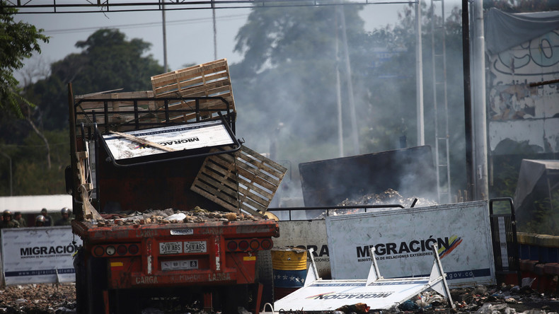 Venezuela: US-Hilfe als Katalysator für Unruhen (Video)