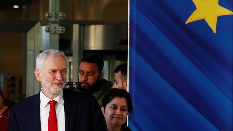 Jeremy Corbyn: Britische Labour-Partei unterstützt zweites Brexit-Referendum