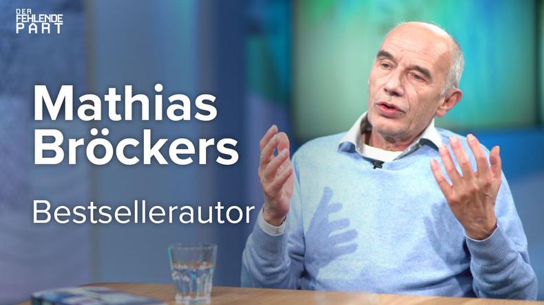 """""""Es geht nicht um Fakten, es geht um eine große Erzählung"""" – Bestsellerautor Mathias Bröckers"""