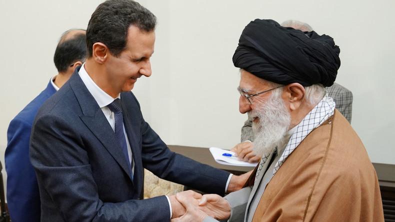 Assad zu Besuch in Teheran: Iran sichert weitere Unterstützung zu