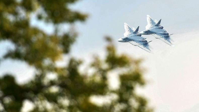 Russland und Indien verhandeln die Lieferung von Su-57 Jets der fünften Generation nach Indien