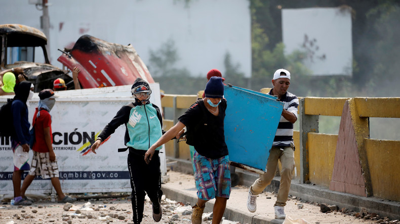 LIVE: Proteste an venezolanisch-kolumbianischer Grenze wegen US-Hilfslieferungen