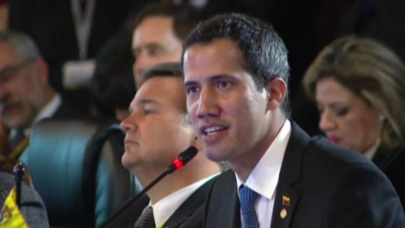 """Guaidó zur Lima-Gruppe in Kolumbien: """"Maduro setzt Killer ein – es ist Zeit zu handeln"""""""