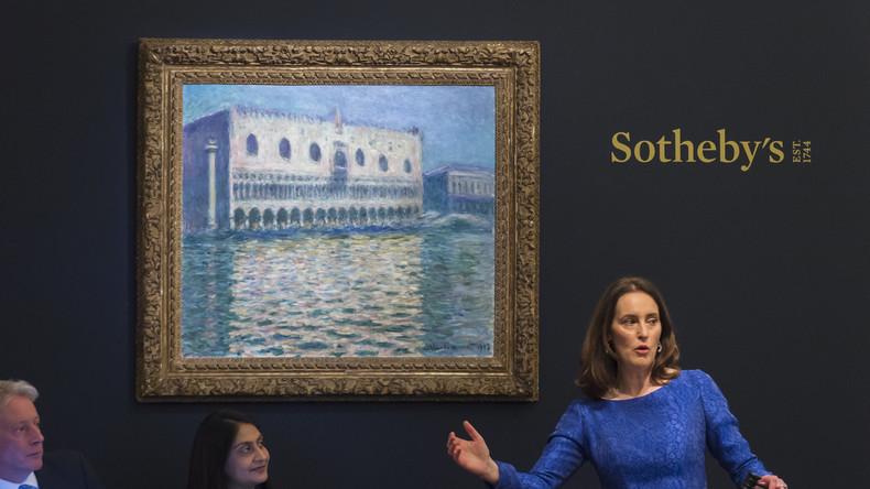 Claude Monets Venedig-Gemälde für rund 32 Millionen Euro versteigert