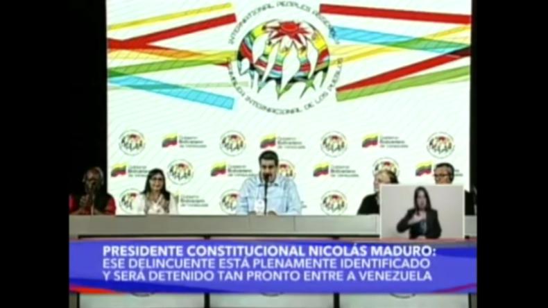 Venezuela: Maduro gibt kolumbianischem Präsidenten Schuld für Chaos an Grenze