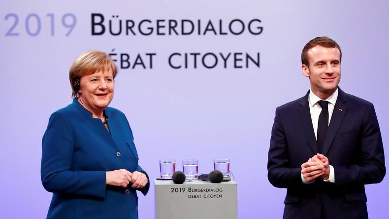 LIVE: Kanzlerin Merkel trifft französischen Präsidenten Macron in Paris