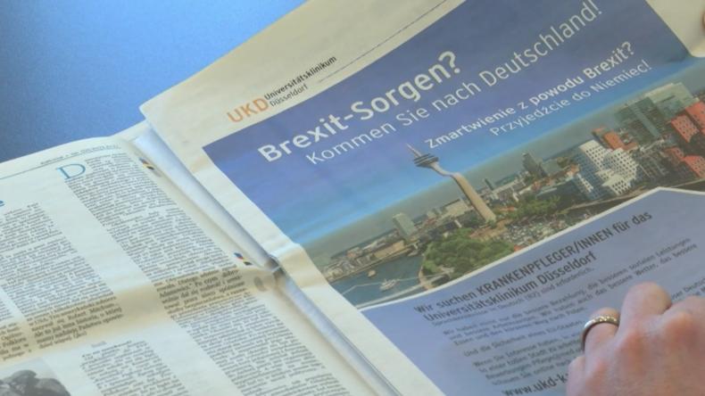 Wegen Brexit: Düsseldorfer Krankenhaus wirbt um polnische Krankenschwestern
