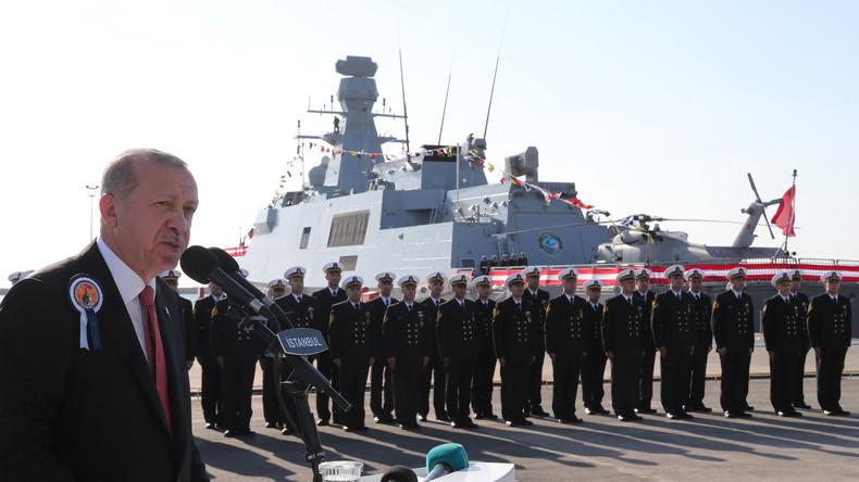 Warnung an Griechenland: Türkei startet größtes Marine-Kriegsmanöver ihrer Geschichte