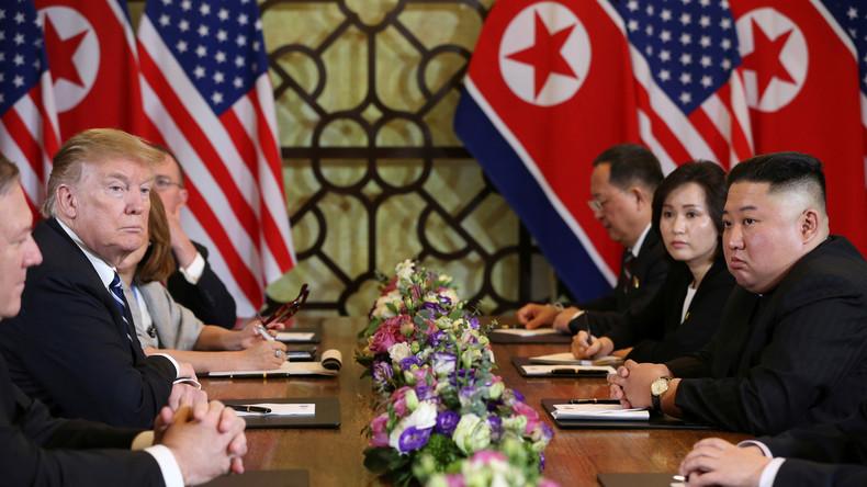Keine Einigung in Hanoi: Trump unterstreicht Fortschritte in Verhandlungen mit Nordkorea