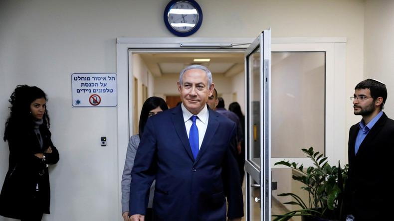 """Netanjahu zu bevorstehender Anklage: """"Absurde Anschuldigungen"""""""