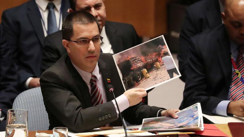 Venezuelas Außenminister nimmt US-Politik, Guaidó und UN-Vertreter auseinander