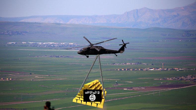 Deal mit Fragezeichen: US-Armee soll IS-Gold aus Syrien abtransportiert haben