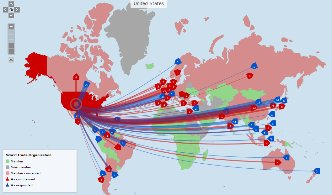 Weltmeister im Verklagen: Die Vereinigten Staaten und die WTO