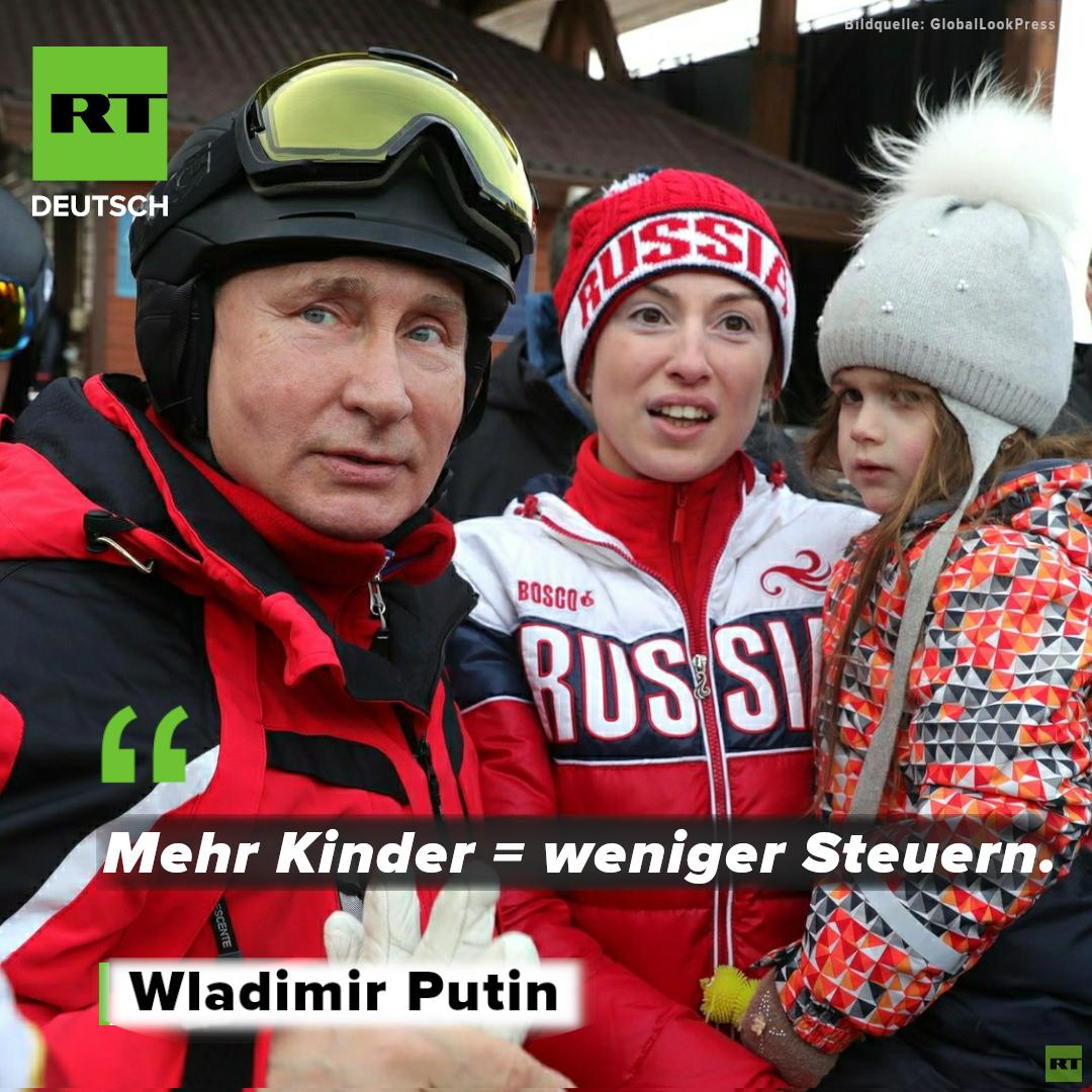 Russlands Zukunft auf dem Spiel? Wie Wladimir Putin den demografischen Trend umkehren will