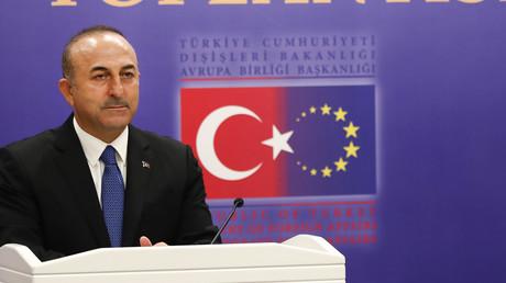 Der türkische Außenminister Mevlüt Çavuşoğlu am 11. Dezember 2018 bei einer Konferenz in Ankara