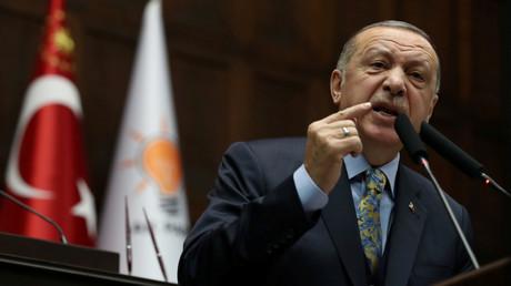 Der türkische Präsident Recep Tayyip Erdoğan, Ankara, Türkei, 15. Januar 2019.