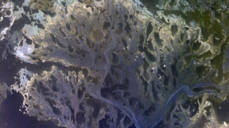 Flussbett auf dem Mars