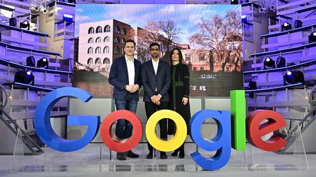 Google-Chef Sundar Pichai bei der Eröffnung der Niederlassung in Berlin am 22. Januar 2019