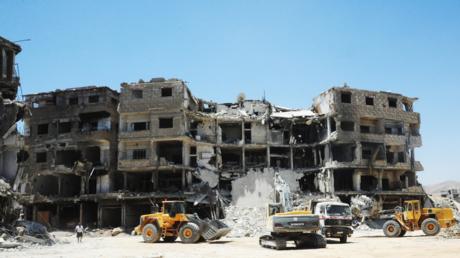 Viel zu tun: Aufräumen in Ost-Ghouta, Juni 2018