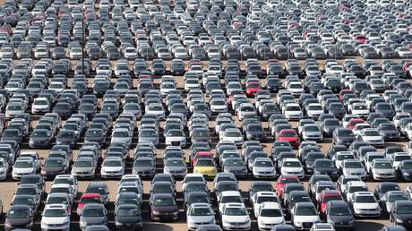 Symbolbild: Dieselfahrzeuge von Volkswagen und Audi in Victorville, Kalifornien, USA, 28. März 2018