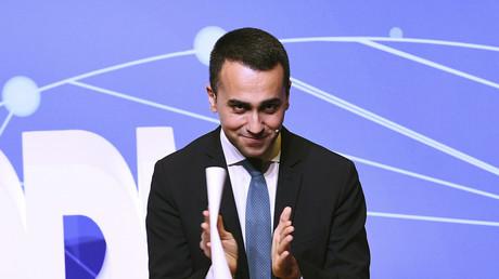 Sein Treffen mit Vertretern der Gelbwesten gab den Ausschlag: Der italienische Vize-Premier Luigi di Maio.
