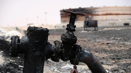 Beschädigte Pipeline im Hafen von Ras Lanuf, Libyen, 10. Juli 2018.